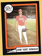 JUAN GONZALEZ LEONES DE PONCE 1988-89  PUERTO RICO #P-9, #105 OF 192