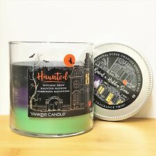 Yankee Candle HAUNTED Halloween Trio TRI-SCENTED Tumbler HIDDEN SCENE