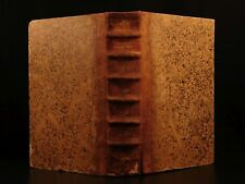 1632 HUGE FOLIO Martin Bonacina Theology of Commerce Economics Banking LAW