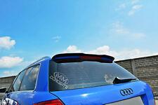 Dachspoiler Ansatz BLACK Heckspoiler für Audi S4 8e B6 Spoiler Dachkantenspoiler