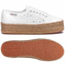Zapatos Superga 2790 Plataforma Cuña Interior Blanco Cotholesangalloropew 901
