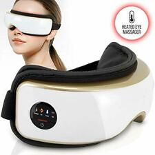 SereneLife SLEYMSG55 Smart Eye Massager, Temple & Eye Mask with Heat Therapy