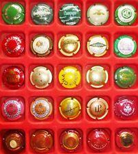 25 CAPSULES de CHAMPAGNE FRANCE REIMS toutes différentes VIN Vigne MUSELET Lot 9