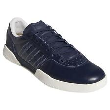 adidas ORIGINALS CITY CUP TRAINERS NAVY SKATEBOARD SHOES SNEAKERS LEATHER