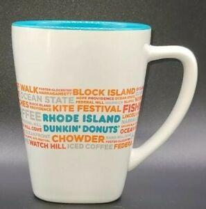 Dunkin Donuts Coffee Mug Rhode Island DD Destinations Block Island Tea Cup