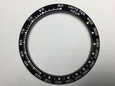 CERAMIC BEZEL IN BLACK WITH WHITE ENGRAVED FOR ROLEX DAYTONA 16520,16523, others
