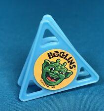 1990 Kellogg Cereal Toy Premium Boglins Stamp Blue RARE
