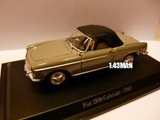 Voiture 1/43 Hachette NOREV FIAT : 1500 Cabriolet 1963