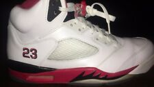 2013 Jordan 5 Fire Red, White-Red, Size 11, 9/10 Condition with Box.