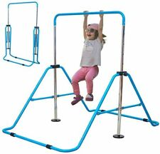 Gymnastics Horizontal Bar Kids Training Bar Expandable Gymnastic Folding Kip