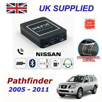 For Nissan Pathfinder Music Streaming Bluetooth Telephon Charger SD AUX CDModule