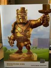 Golden Barbarian Statue