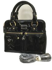 MODALU Small Black Patent Grab Bag BNWOT