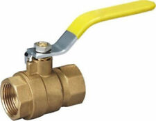 """1/2"""" BSP Water Fuel Lever Type Ball Valve Female To Female Quarter Turn Flow New"""