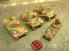 Flames of War Painted German Infra Red Equipped Panther Plt with SdKfz 251/20 UH