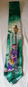 NECKTIE - Vintage Pink Panther Necktie 100% Silk 1993 Mirsch Geoffrey MGM