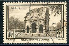 STAMP / TIMBRE FRANCE OBLITERE N° 389 ORANGE