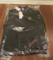 Supreme Lacoste Wool Varsity Jacket Size Large Black SS18J3 SS18 Brand New 2018