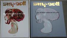 SKY DOLL 4 SUDRA HC BARBUCCI Black White EURO VARIANT SKETCHBOOK Skydoll Sketch