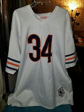 Walter Payton Chicago Bears Mitchell And Ness Authentic Throwback Jersey Size 56