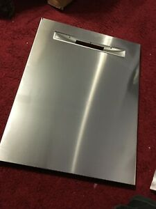 00770292 BOSCH DISHWASHER STAINLESS STEEL OUTER DOOR PANEL OEM