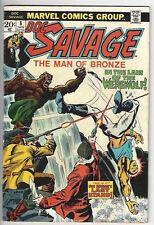 DOC SAVAGE#8 (JAN 1974, Marvel)