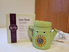 SLIGHTLY USED Scentsy Full-Size Warmer - Green Thumb - Retired