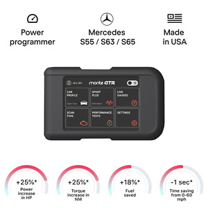 MERCEDES S55 S63 S65 smart tuning chip power programmer performance race tuner