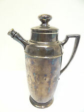 Antique Homan Plate Nickel Silver Hygi-Seal Stopper Pitcher Serving Container
