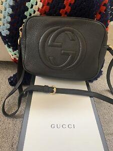 Gucci Soho Crossbody Black Great Condition