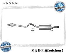 Auspuffanlage Opel Astra H, GTC, Caravan 1.9 CDTi Auspuff Schelle mit Chrom