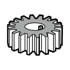 Pinion Beater Gear (19T) for Hobart Mixers A120 and A200 Oem # 00-015217