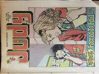 box C  discoloured with age rare comic judy no 1148 january 9th 1982