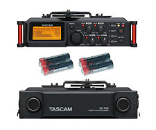 Tascam DR-70D Line PCM Recorder w/ 4 Free Universal Electronics AA Batteries New