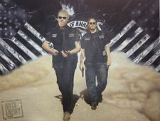 Sons of Anarchy HAND OIL PAINTING signed ART Outlaw Motorcycle Harley Davidson