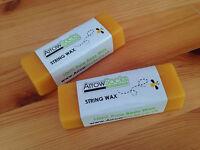 ArrowSocks - 1 Bar Of Bow String Wax - 100% Pure Solid Bees Wax