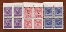 Nazi Germany B&M Three Kings stamp block set Ww2 Mnh