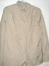 Soft Barbour Waterproof Tan Jacket Women's Size 10 NWT Coat Small Medium Beige