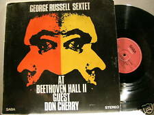 GEORGE RUSSELL at Beethoven Hall II Don Cherry Saba LP