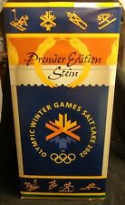 """Anheuser Busch LARGE 22"""" Premier Edition Beer Stein 2002 Winter Olympics"""