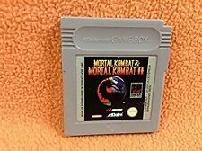 Mortal Kombat & Mortal Kombat II 2 Nintendo Game Boy Super Fast FREE SHIP Rare!