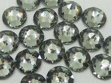 6ss BLACK DIAMOND HOTFIX swarovski rhinestones 1 gr