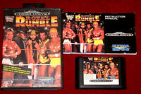 Sega Mega Drive Game WWF ROYAL RUMBLE AU/EUR/UK PAL