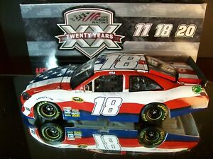 Kyle Busch #18 M&M's Red White & Blue 9/11 Tribute 2011 Toyota Camry 1:24 2,142