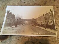 Real Photo Postcard. Lyndhurst Road Peckham.   ref238