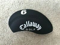 10Pcs Black Quality Neoprene Callaway Golf Club Iron Covers HeadCovers UK