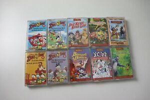 10 Hörspielkassetten Disney / Duck Tales Bernard & Bianca Dschungelbuch Yakari