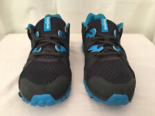 Reebok Womens Black/Blue Real Flex Transition Dual Compound Athletic Shoe Size 7