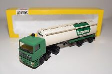 ± LION CAR DAF 95 TRUCK WITH TRAILER BULK SILO KOOPMANS MENGVOEDERS NMINT BOXED