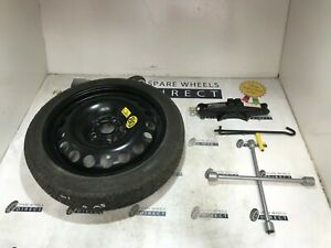 "2012 -ON VAUXHALL ZAFIRA TOURER 16"" SPARE SPACE SAVER WHEEL + JACK KIT (GM4)"